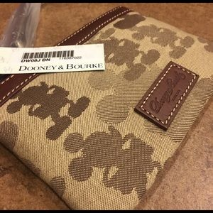 NWT Mickey Mouse Dooney and Bourke wristlet